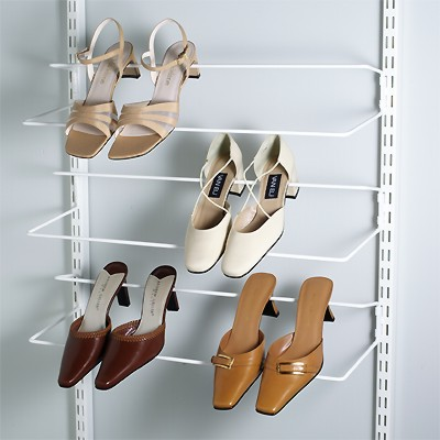 wall shoe rack plans